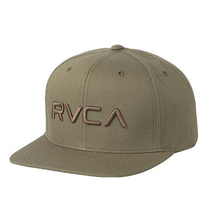 Boné RVCA Snap Twill III Verde Musgo