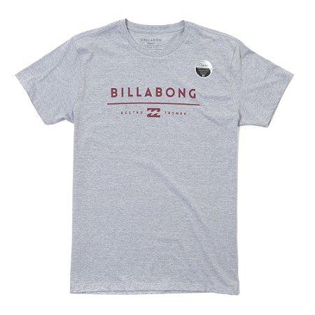 Camiseta Billabong Unity Cinza
