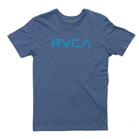 Camiseta RVCA Big RVCA Azul Escuro