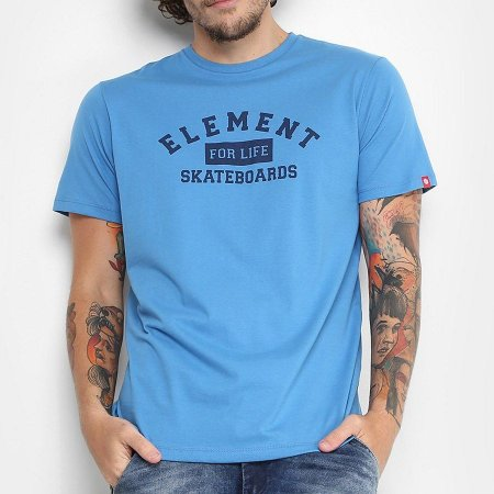 Camiseta Element For Life Azul