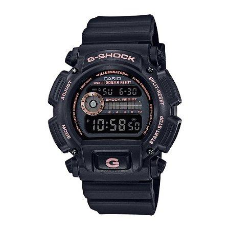 Relógio G-Shock DW-9052GBX-1A4DR Preto/Rosa