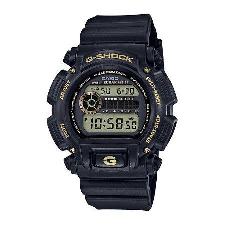 Relógio G-Shock DW-9052GBX-1A9DR Preto/Dourado