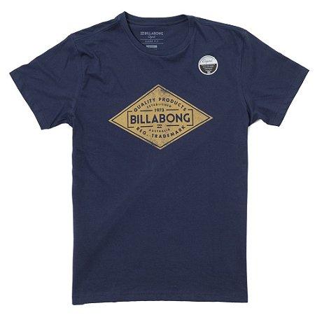 Camiseta Billabong Supply Azul Marinho