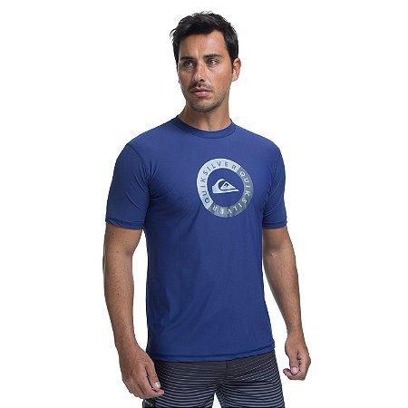 Camiseta Surf Quiksilver Wave Surf Azul
