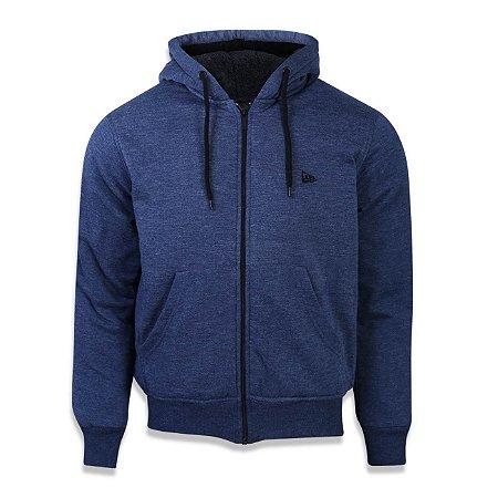 Moletom New Era Ultra Fleece Azul Marinho