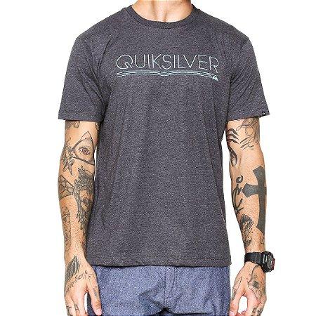 Camiseta Quiksilver Thinmark Thermal Preta