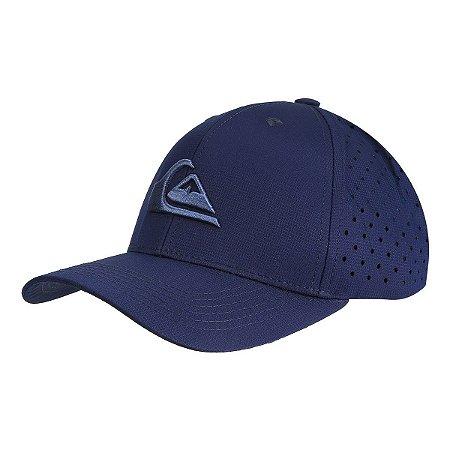 Boné Quiksilver Trucker Laser Azul Marinho - Radical Place - Loja ... a1fc400bba9