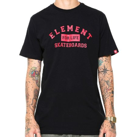 Camiseta Element For Life Preto
