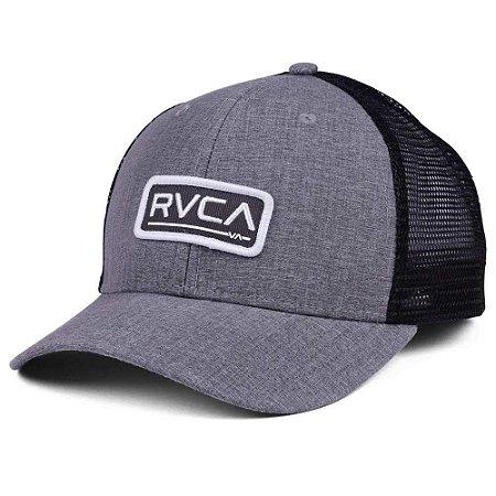 Boné RVCA Snap Ticket Hat Truck Cinza/Preto