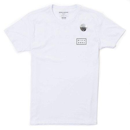 Camiseta Billabong Border Die Cut Branca