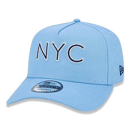 Boné New Era 940 A-Frame Veranito NYC Azul Claro