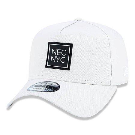 Boné New Era 940 A-Frame Veranito NEC NYC Bege