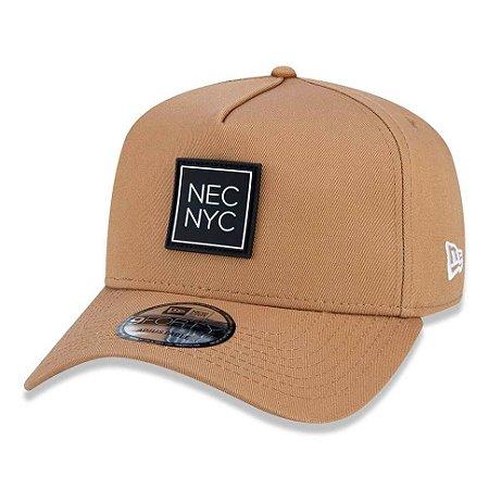 Boné New Era 940 A-Frame Veranito NEC NYC Marrom