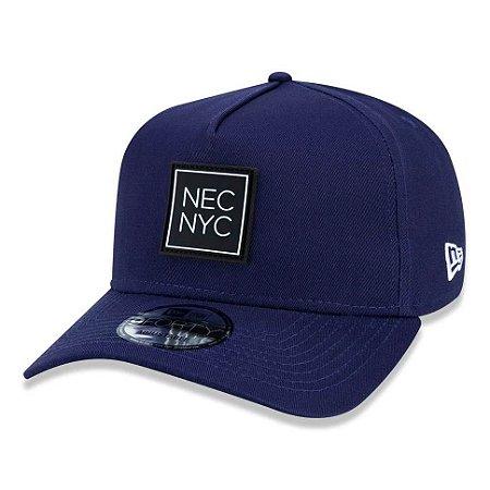 Boné New Era 940 A-Frame Veranito NEC NYC Azul Marinho