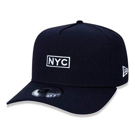 Boné New Era 940 A-Frame NYC Azul Marinho