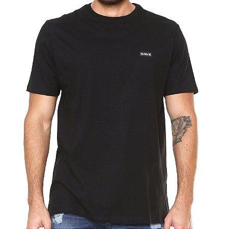 Camiseta Hurley Silk Basic Preta