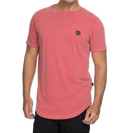 Camiseta Quiksilver Especial Scallop Patch Vermelha