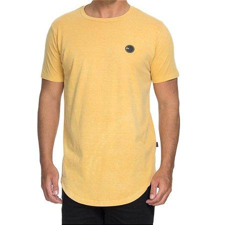 Camiseta Quiksilver Especial Scallop Patch Amarela