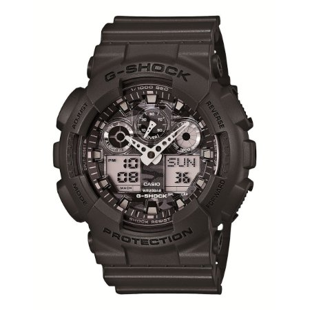 4db5e88f748 Relógio G-Shock GA-100CF-8ADR Preto Prata - Radical Place - Loja ...