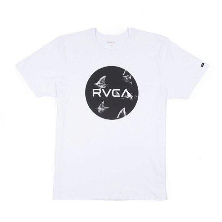 Camiseta RVCA Motors Fill Up Branca