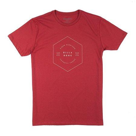 Camiseta Billabong Access Vermelha