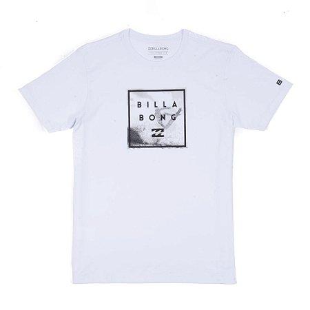Camiseta Billabong Stacked Back II Branca