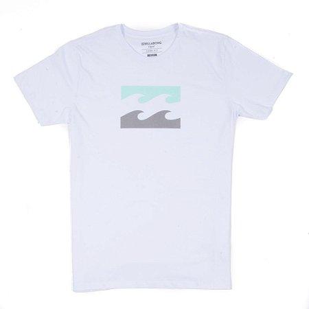 Camiseta Billabong Wave Branca