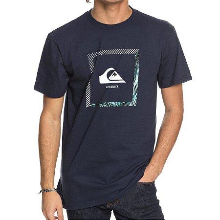 Camiseta Quiksilver Beat The Heat Azul Marinho