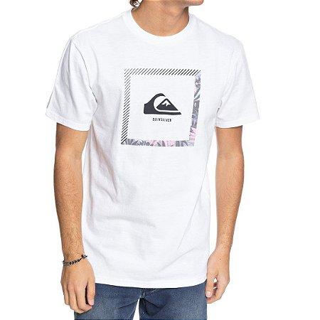 Camiseta Quiksilver Beat The Heat Branca