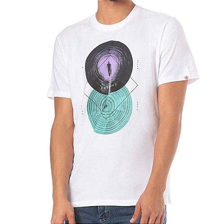 Camiseta Element Ripples Branca
