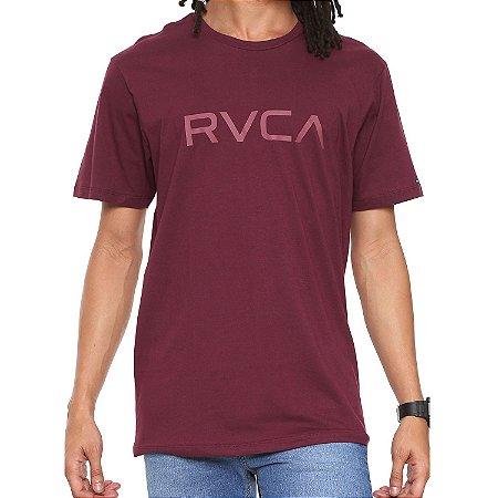 Camiseta RVCA Big RVCA Vinho