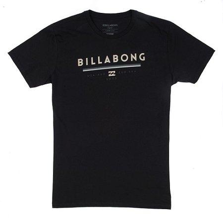 Camiseta Billabong Unity Preta