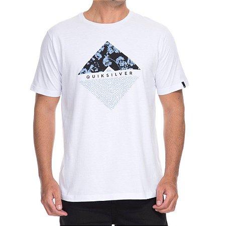 Camiseta Quiksilver Flower Dot Branca