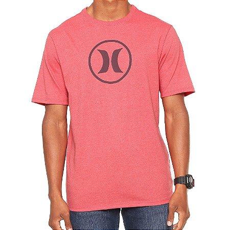 3738c1b05b1d2 Camiseta Hurley Silk Circle Icon Vermelha - Radical Place - Loja ...