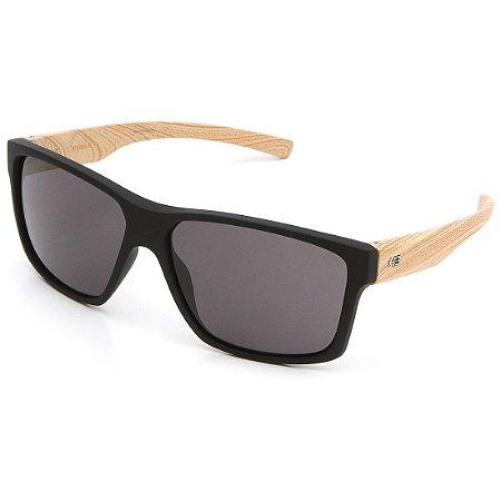 Óculos de Sol HB Freak Matte Black Wood I Gray