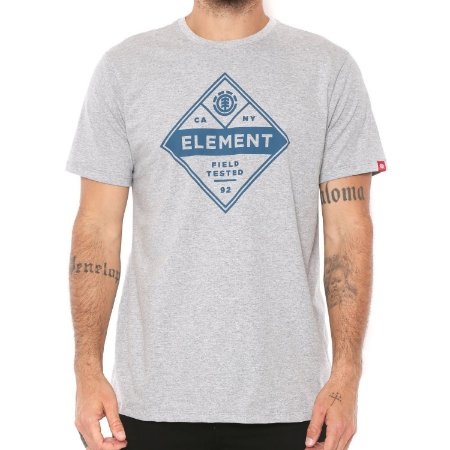 Camiseta Element Aspect SS Cinza