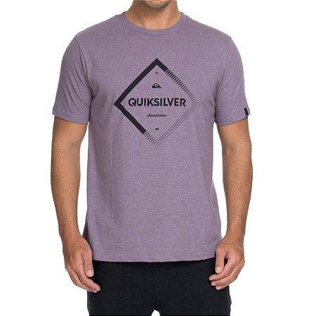 Camiseta Quiksilver Diamond Spirit Roxa