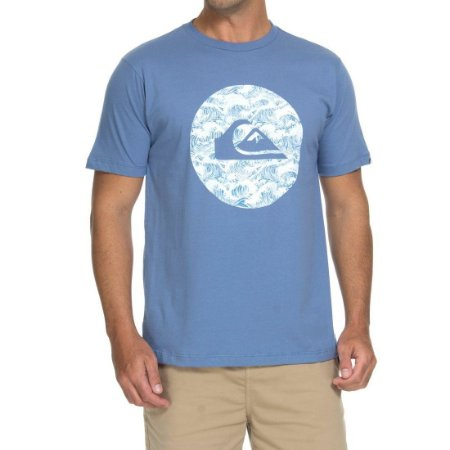 ddbe8c9afc52f Camiseta Quiksilver Filtro Azul - Radical Place - Loja Virtual de ...