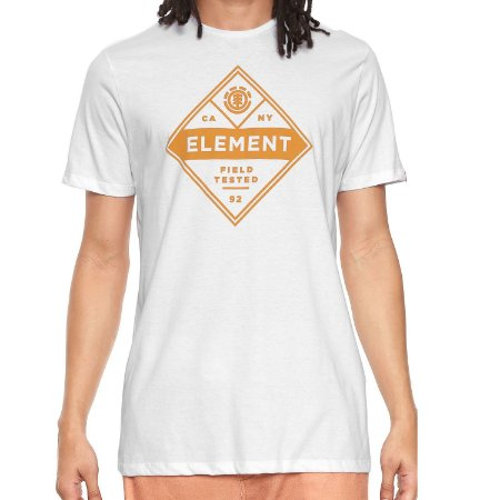 Camiseta Element Aspect SS Branca