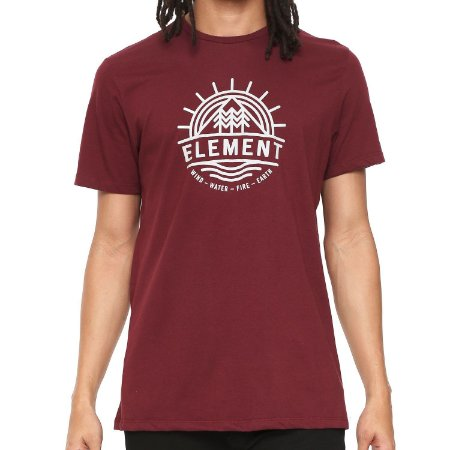 Camiseta Element Factor SS Vinho