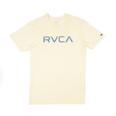 Camiseta RVCA Blur Amarela