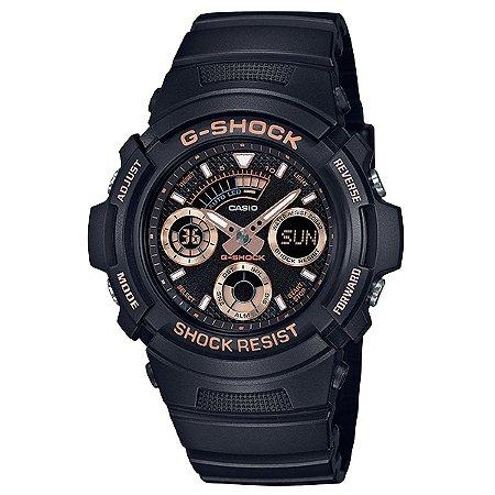 Relógio G-Shock AW-591GBX-1A4DR Preto/Rosa