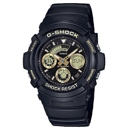 Relógio G-Shock AW-591GBX-1A9DR Preto/Dourado