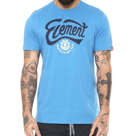 Camiseta Element Walder Azul