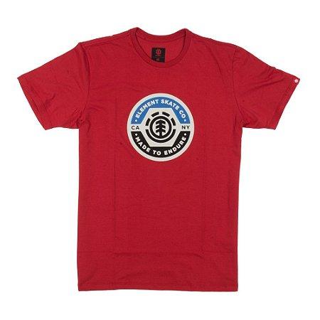 Camiseta Element Pivot Vermelha