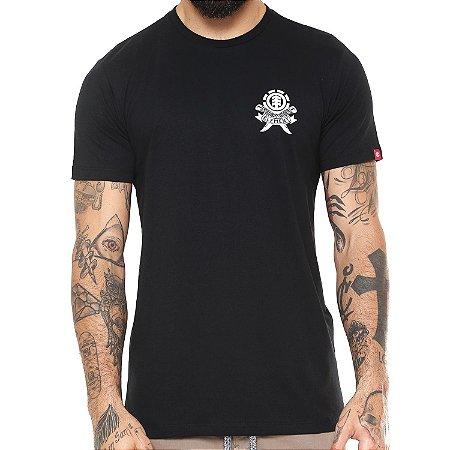 Camiseta Element Carve Preta