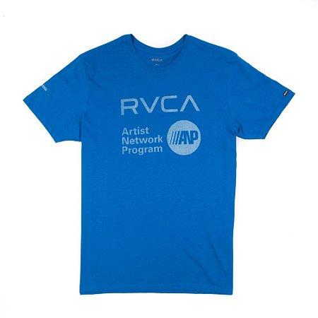 Camiseta RVCA Anp Fill Azul