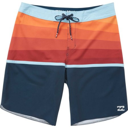 Bermuda Billabong Boardshort Fifty50 X Azul/Laranja