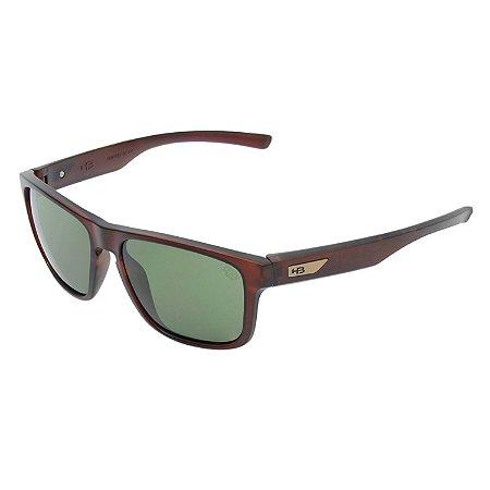 Óculos de Sol HB H-Bomb Matte Brown | G15