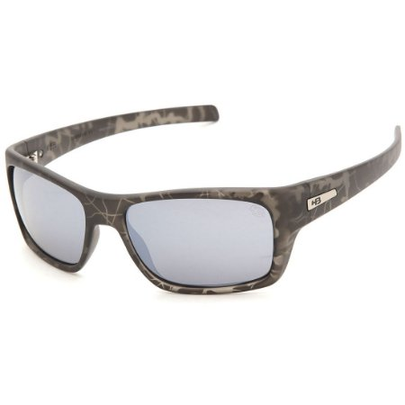 Óculos de Sol HB Monster Fish Matte Onyx Military l Silver
